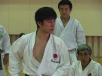 Curso de karate JKA no Japão