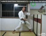 Força do solo no Karate