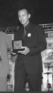 Melhor atleta de karate Tradicional PE-2005