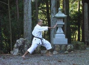treinamento de taisabaki pinto san karate shotokan