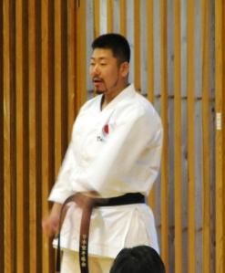 Kurihara sensei- instrutor oficial da JKA