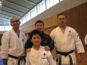 curso com Kumita sensei em fujieda