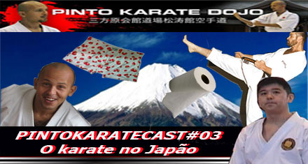 falando sobre o karate do japão