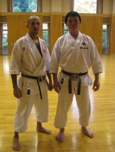 Pinto San e Kobayashi sensei