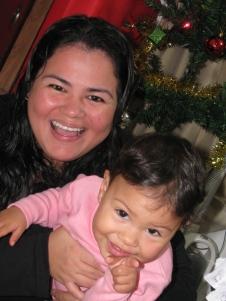 Feliz natal da família Pinto