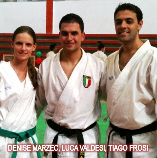 Curso com Luca Valdesi  com participação de Tiago Frosi sensei