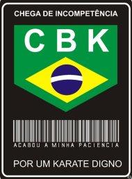 Novo presidente da CBK