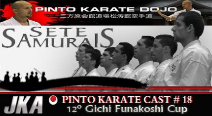 Equiepe brasielria de karate JKA kumite