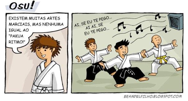 Humor  do Pinto Karate dojo