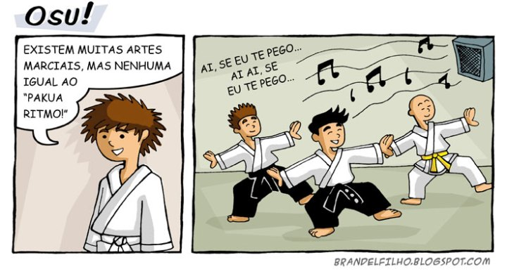 Humor  do Pinto Karate dojo