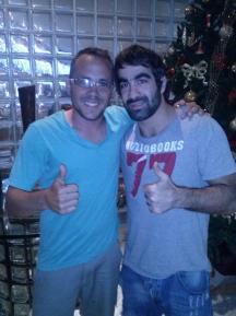 Daniel Caputo e Rafael Aghayev no RJ