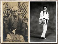 Chotoku Kyan e Jyoen Nakazato, Fundadores do Shorinji-ryu