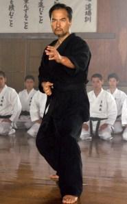 Nishi Fuyuhiko em Kuro obi