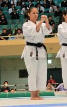 Manuela Spessatto - 5º melhor kata do mundo / JKA
