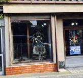 Loja de afiação de facas e espadas em Kamakura.