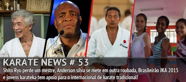 Seu programa sobre o mundo do karate