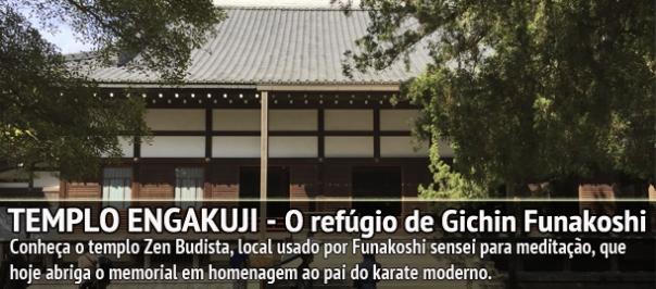 O refúgio de Funakoshi sensei