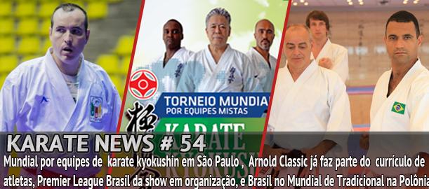 Entrevista exclusiva com André Maraschin, campeão do Arnold Classic, e Ronaldier Rodrigues, campeão Mundial de Karate Tradicional.