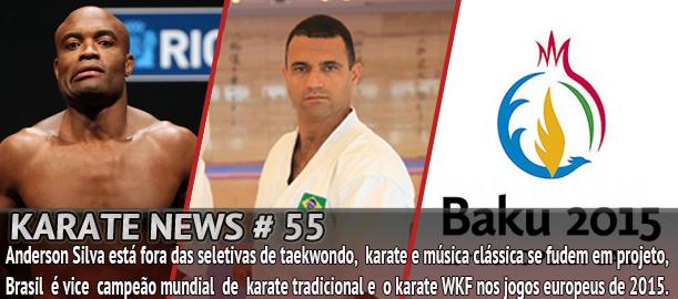 Notícias sobre o mundo das artes marciais