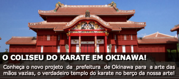 O COLISEU DO KARATE EM OKINAWA!