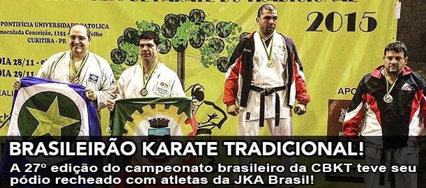 Pódio recheado de atletas da JKA Brasil