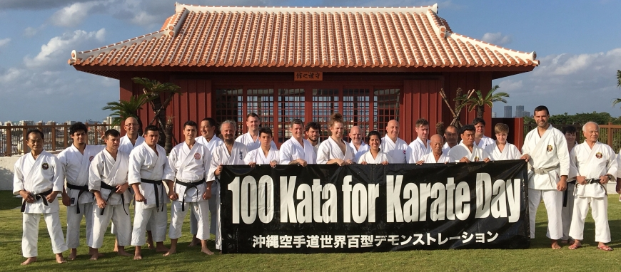 ABERTURA DO 100 KATA CHALLENGER - Okinawa