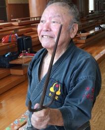 Yogi sensei e o Sai de 60 anos
