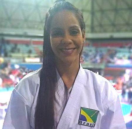 Bi campeã mundial de karate tradicional
