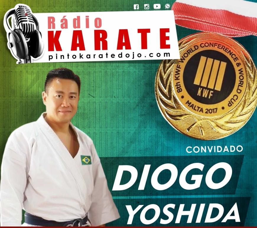 diogo yoshida campeão mundial de karate