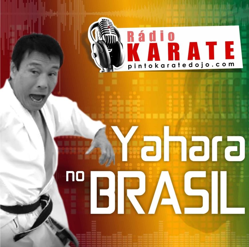 Karate no Michi Brasil promove curso com Yahara sensei no Rioi de janeior