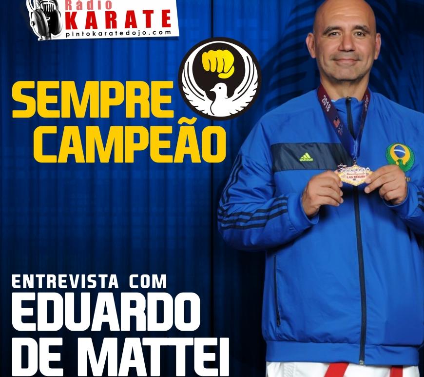 Radio karate entrevista Eduaro De Mattei
