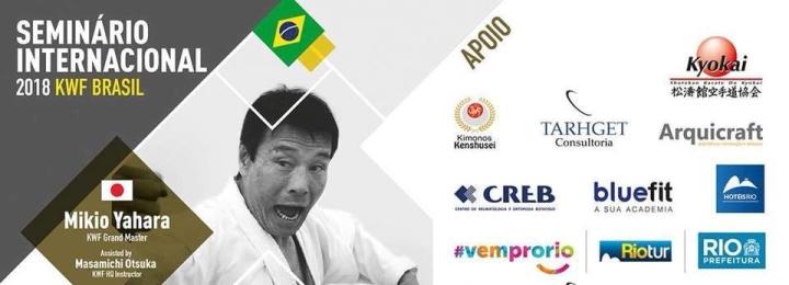 Workshop Internacional de Yahara sensei no Brasil