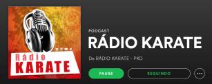 RÁDIO KARATE NO SPOTIFY