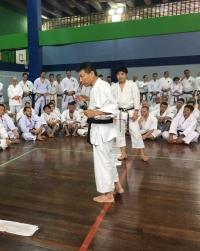 Yahara sensie ensinando no Brasil