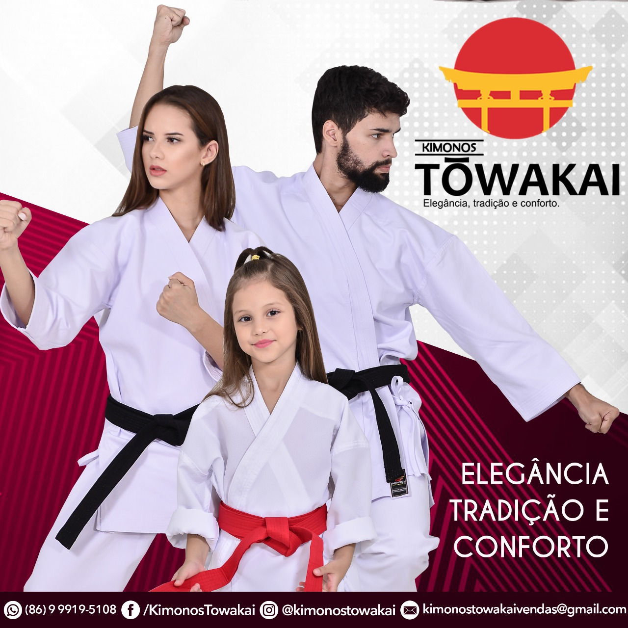 Kimonos e dogi towakai , loja especializada em uniformes para karate