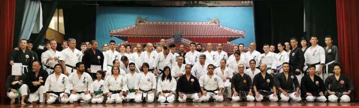 Seminario de okinawa karate e kobudo Jinbukai