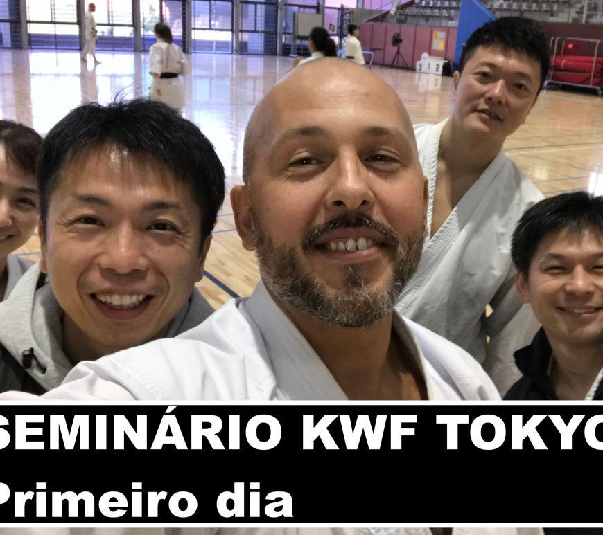 Seminário internacional da Karate no michi em Tokyo 2019