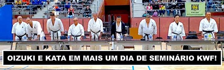 EXAME DE GRADUAÇÃO E CURSO DE ARBITRAGEM DE KARATE